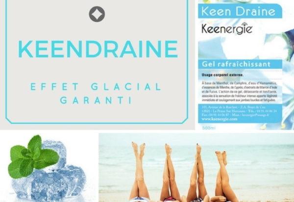 Test du Keendraine, gel jambes légères : au frais !