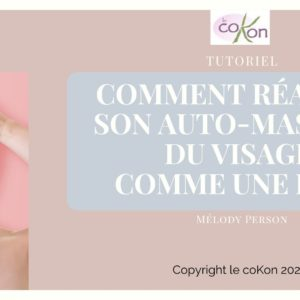 Tutoriel auto-massage du visage+Evolve huile miracle+acide hyaluronique