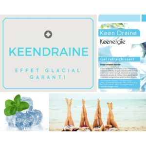 Gel circulatoire Keen Draine