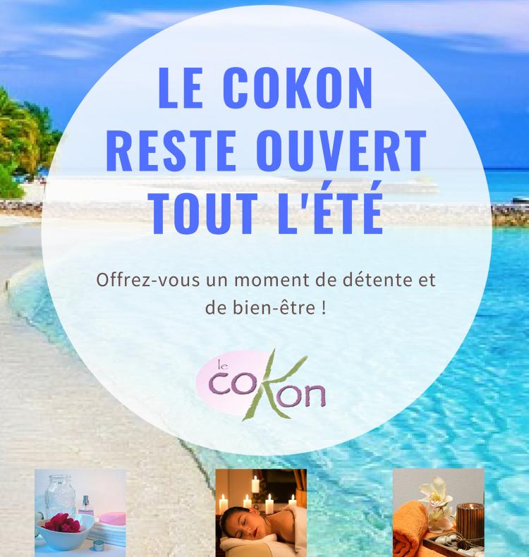 You are currently viewing Le coKon reste ouvert tout le mois d'août !
