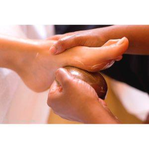 Massage Ayurvédique Kansu pieds 40 min