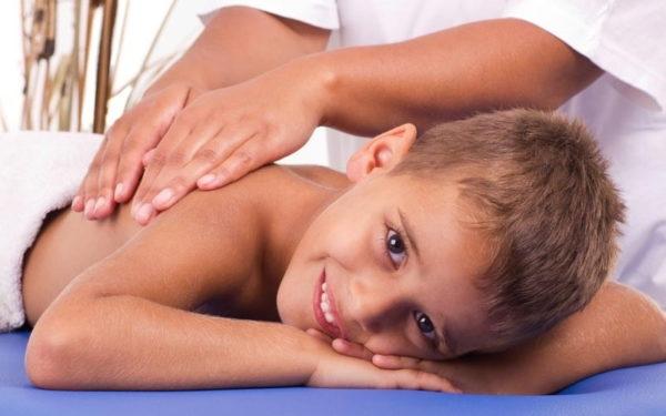 Le massage pour enfant