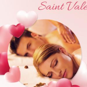 Des soins douillets et intimistes à deux pour la Saint-Valentin
